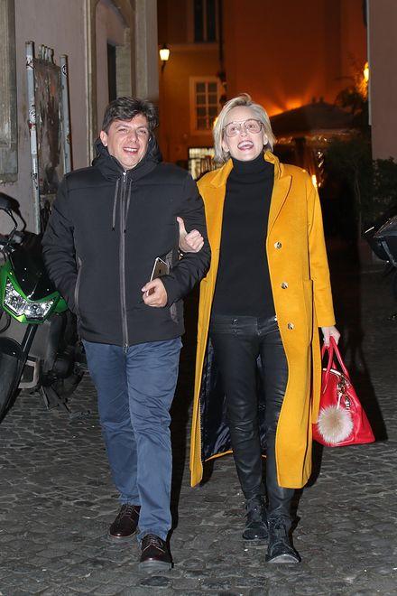 Sharon Stone z partnerem