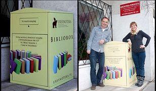 Pierwszy bibliobox w Polsce stanął na Ursynowie