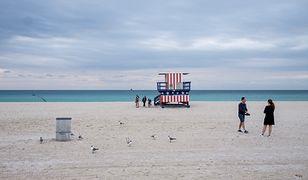 USA: Piorun poraził Polaka na plaży. Mężczyzna trafił do szpitala w krytycznym stanie