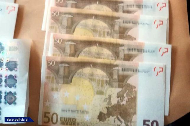 Podrobione euro