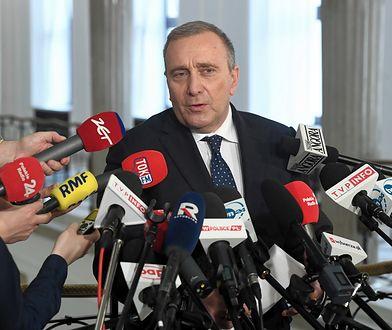 Grzegorz Schetyna przedstawił listy PO w wyborach do Parlamentu Europejskiego