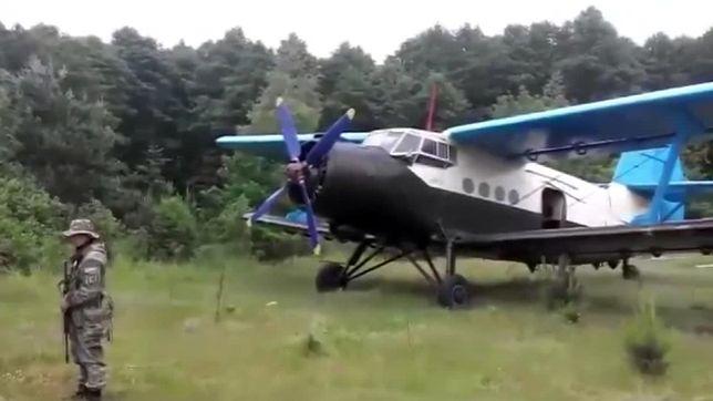 Na Wołyniu znaleziono samolot używany do przemytu towarów do Polski