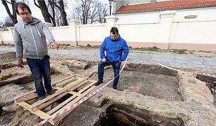 Tuż pod ziemią kryły się ruiny klasztoru