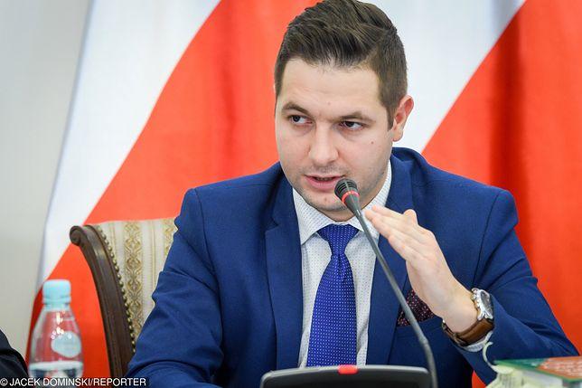 Szef komisji weryfikacyjnej Patryk Jaki.