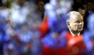 Jarosław Kaczyński podczas kongresu Prawa i Sprawiedliwości