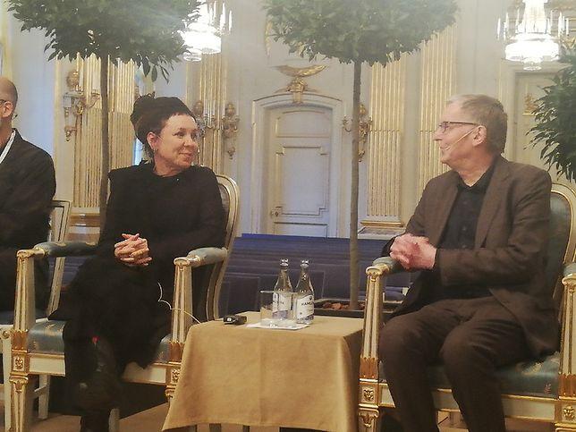Olga Tokarczuk - konferencja z udziałem dziennikarzy
