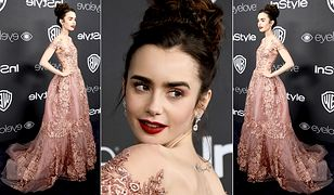 LOOK OF THE DAY: Lily Collins w sukni Zuhair Murad