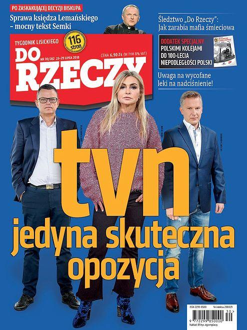 Dumny Jacek Kurski i TVN, który jest lepszy niż opozycja. Tygodniki stawiają na autotematyzm