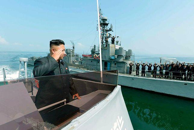 Tajemnicze sztuczne wyspy u wybrzeży Korei Płn.