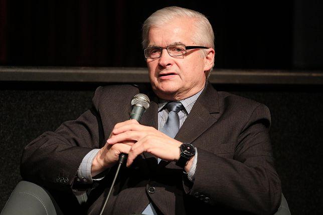 Wybory prezydenckie 2020. Włodzimierz Cimoszewicz krytykuje Andrzeja Dudę