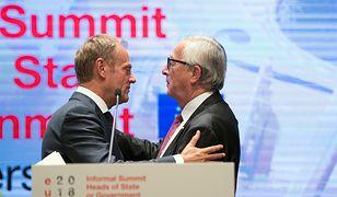 Tusk i Juncker nie wykluczają brexitu bez porozumienia