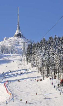 Czeskie ośrodki narciarskie najtańsze w Europie