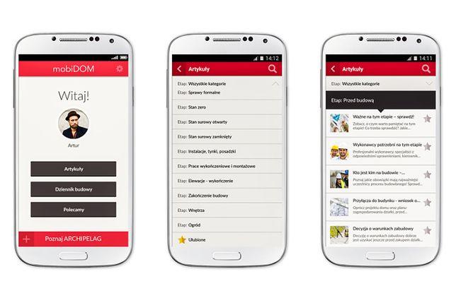 Aplikacja, która pomaga w budowie domu