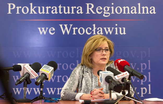 Rzecznik Prokuratury Regionalnej we Wrocławiu Anna Zimoląg
