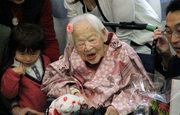 Japonka świętuje 117. urodziny. Jest najstarszym człowiekiem na świecie