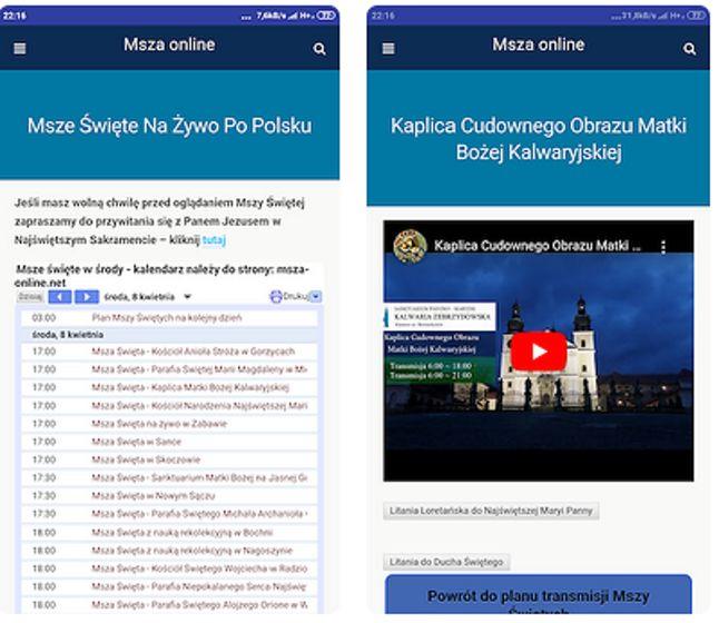 """Aplikacja """"Msza Online"""" znakomicie sprawdzi się podczas nadchodzących świąt"""