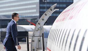 Incydent podczas startu rządowego samolotu