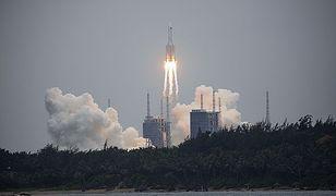 Chińska rakieta spadła do Oceanu Indyjskiego