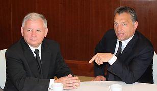 Kaczyński, Orban, dwa - nieprzewidywalne dla reszty Europy - bratanki
