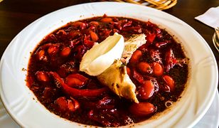Barszcz ukraiński. Sycąca zupa pełna wartościowych składników