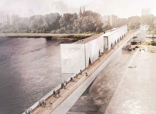"""W Warszawie powstanie nowy most? """"Tylko dla pieszych i rowerzystów"""""""