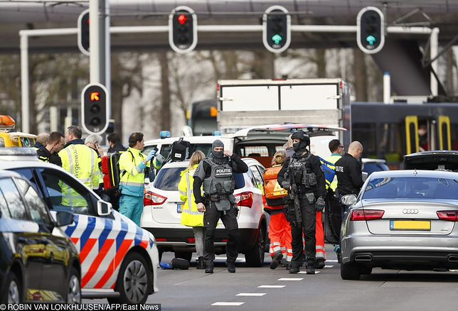 Sprawca zaczął strzelać do pasażerów w tramwaju w holenderskim Utrechcie
