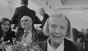 """Mjr Anna Mizikowska """"Grażka"""" nie żyje. Uczestniczka Powstania Warszawskiego miała 94 lata"""