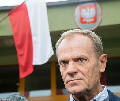 Bruksela. Donald Tusk komentuje wyniki wyborów parlamentarnych