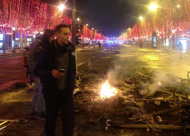 Zabarykadowane ulice, spalone samochody. Byłam w Paryżu podczas zamieszek