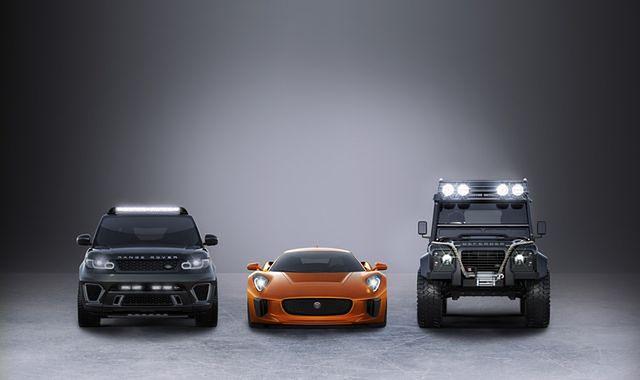 Nowe auta na planie filmu o Jamesie Bondzie