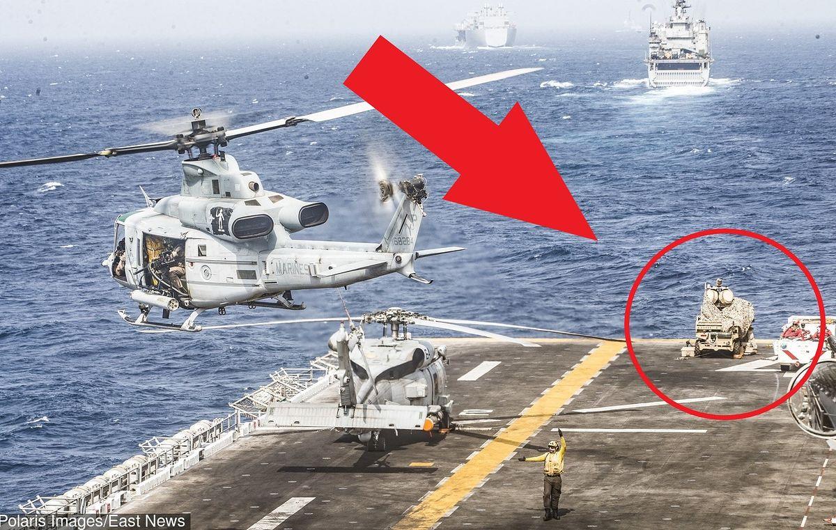 USS Boxer strącił irańskiego drona. Amerykanie użyli niepozornej broni