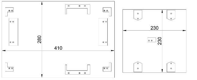 Projekt podstawki oraz stołu