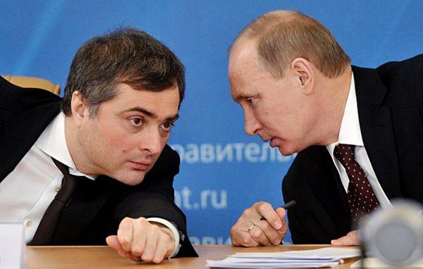 Władisław Surkow - jeden z najbliższych doradców Władimira Putina