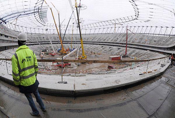 Oszukani przedsiębiorcy chcą zablokować Stadion Narodowy w dniu otwarcia Euro