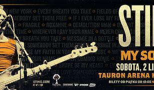 Cherrytree Management i Live Nation ogłaszają koncert Sting: My songs, który odbędzie się 2 listopada w TAURON Arenie Kraków