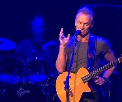Sting wystosował oświadczenie dla fanów