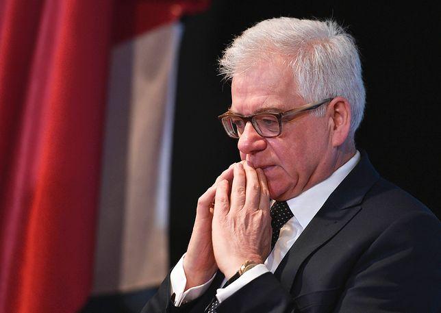 Jacek Czaputowicz jest ministrem spraw zagranicznych od 9 stycznia 2018 roku