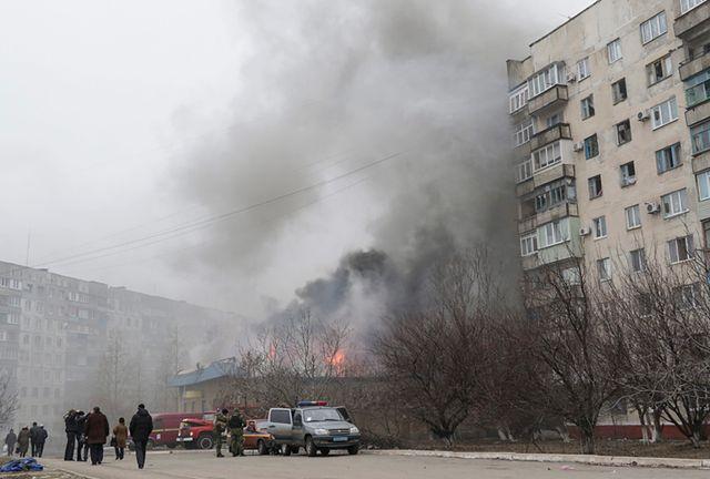 Separatyści zaatakowali ukraińskie miasto
