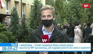 """Pierwszy dzień szkoły w dobie pandemii koronawirusa w Polsce. Rodzice o """"stresie i lęku"""""""