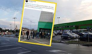 Część Polaków postanowiła wykorzystać przerwę w pracy na remonty - masowo udała się więc do marketów budowlanych
