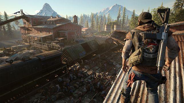 """""""Days Gone"""" przenosi gracza w świat postapokalipsy zombie, który można eksplorować w trybie single player"""