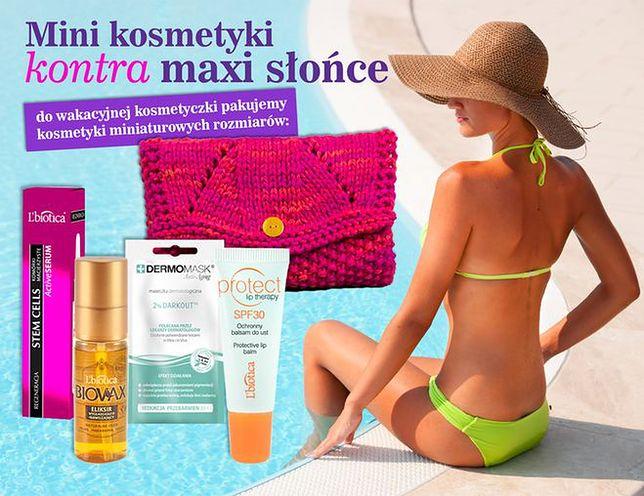 Mini kosmetyki kontra maxi słońce