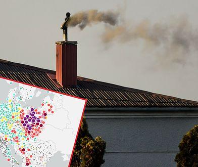 Polska przykryta smogiem. Węgiel króluje w naszych piecach