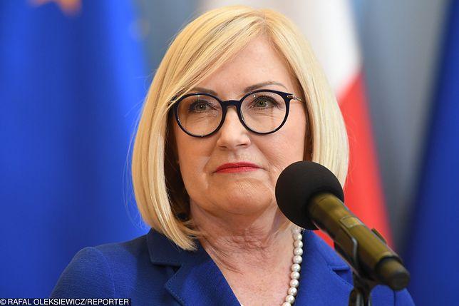 Joanna Kopcińska, rzeczniczka rządu
