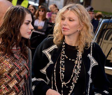 Courtney Love z córką, Frances Bean Cobain