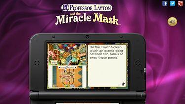 Przetestujcie sobie zagadki z Professor Layton and the Miracle Mask
