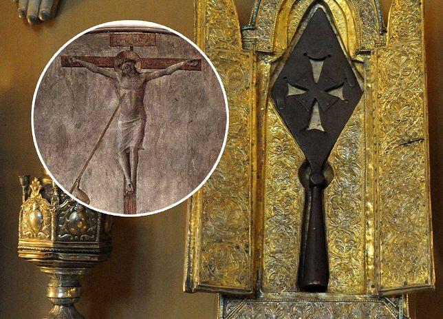 Święta włócznia Longinusa, prawdopodobnie falsyfikat, Muzeum w Erwaniu
