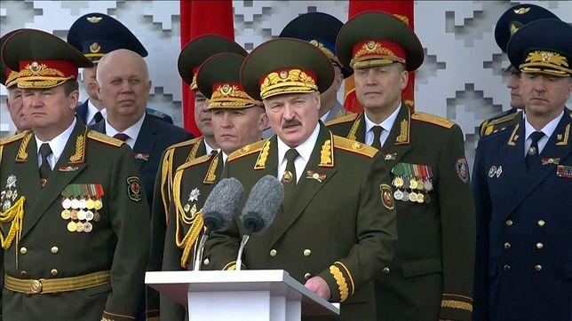 Alaksandr Łukaszenka mówił o rozlewie krwi