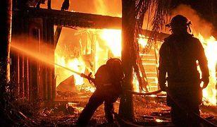 Pożar budynku w Słomnikach. Nie żyje trzech mężczyzn