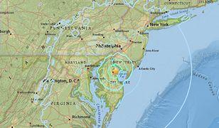 Wstrząsy były odczuwalne w Nowym Jorku